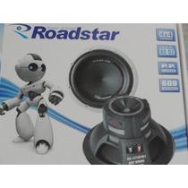 Subwoofer Altofalante 12 Roadstar Rs-1210pw1 600rms 4+4