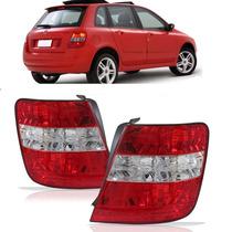 Lanterna Traseira Fiat Stilo 03 04 05 06 07 Bicolor Esquerdo
