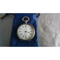 Longines Reloj De Bolsillo De Plata(raro) Especial