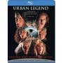 Urban Legend Blu Ray Leyenda Urbana