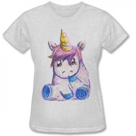 Camiseta Unicornio Unicorn Alien Fofo Tumblr Sol Baby Look R 25