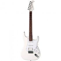Guitarra Eagle Sts-002 Wt Stratocaster Branca - Refinado