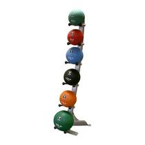 Paquete De Rack Body Solid Con 6 Balones Medicinales