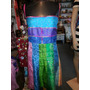 Vestido Hindu Tela Traslucida.colores.fresco T M. San Isidro