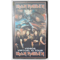Vhs - Iron Maiden - Videos Virtual Xi Tour