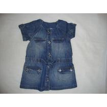 Vestido Jeans ( Zara Baby) Tamanho: 18-24 Meses