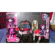Monster High Paquete Die-ner Con Muñeca Draculaura Incluida