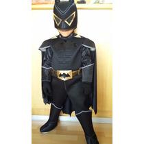 Disfraz Estilo Batman Vs Superman Nuevo De Lujo Niños