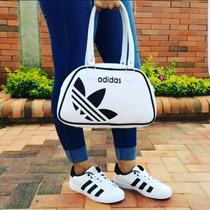 Adidas Super Star Combo Con Bolso Cartera Deportivo