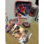 Manteleria Combo Kit Fiesta Infantil Spiderman Vasos Platos