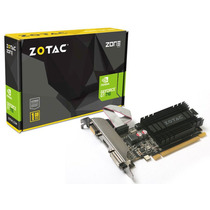 Geforce Zotac Gt Mainstream Nvidia Gt 710 Low Profile 1gb