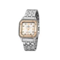 Relógio Champion Feminino Prateado E Rosé Cn27321q Original
