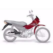 Kit Carenagem (7 Peças) Honda Pop 100 - S/adesivos