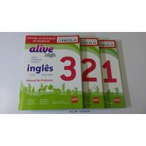Livro De Inglês Alive High Vol. 1, E 3 - Novo Lacrado
