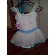 Malla Ballet Vestido Con Tutu Niñita