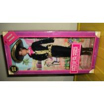 Barbie Mexicana Traje Charro