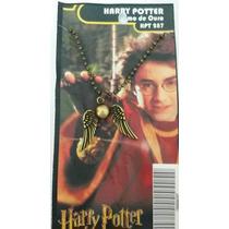 Colar Pomo De Ouro - Harry Potter - Cosplay
