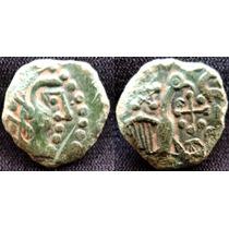 Moeda Antiga Linda Da Cultura Dos Celtas Rara