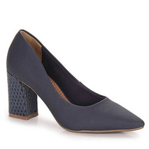 Sapato Scarpin Feminino Via Marte - Marinho