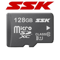 Micro Sd Xc 128gb Clase 10 Con Adaptador 100% Originales Ssk