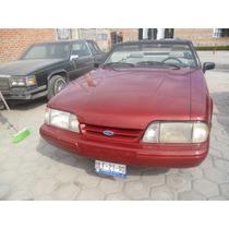 Mustang 1992 Convertible, 4 Cilindros, Automàtico.
