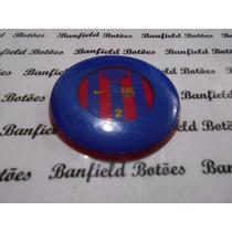 Cod 2876 Botão Barcelona 4.0 Escudo Embutido