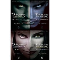 Colecao Diarios Do Vampiro - L J Smith (4 Livros)
