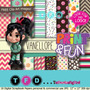 Kit Imprimible Fondos Vanellope Papel Digital Clipart Ralph
