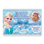 30 Convites Personalizados Com Envelope E Tag - Frozen