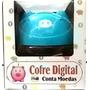 Cofre Digital - Cofrinho Porquinho Azul - Conta Moedas !