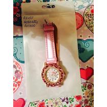Stock Lindos Relojes Hello Kitty Importado Rosado