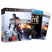 Battlefield 4 + Filme: Tropa De Elite - Ps3 - Pronta Entrega