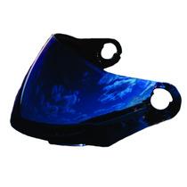 Viseira Colorida Capacete Liberty Four 4 Pro Tork Azul