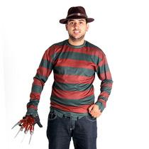 Fantasia Freddy Krueger Adulto Sulamericana Terror