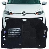 Tapete Up! Volkswagen Carpete Bordado 5 Peças