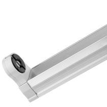 Porta Lampara Para Tubo Led G13 Bipin Aluminio Jwj B42770