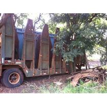 Carreta Julieta Canavieira 2009 Sucata S/ Documento 5.000.