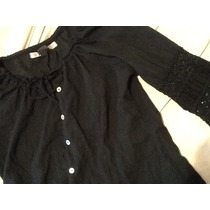 Kosiuko Camisa Con Mangas Con Puntilla