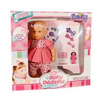 Boneca Bebê Dédinha Brincar De Médica Doutora Doll