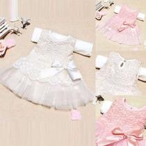 Vestido Renda Bebê Festa Importado!!!