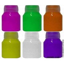 Tinta Corporal Fluorescente Neon Fluorcorp - 500 Ml