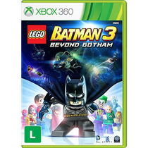 Lego Batman 3 - Jogo Dublado Em Português Xbox 360