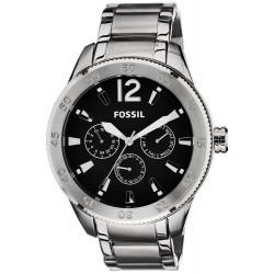 6d9fa62b2aa3 Reloj Fossil Bq1716 Hombre Acero Inoxidable Original U S A ...