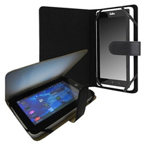 Capa Universal Couro P/ Tablet 7 Coby Foston Genesis Galaxy