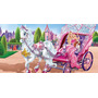 Painel Decorativo Festa Barbie [2x1m] (mod3)
