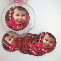 100 Rótulos Adesivos Personalizados Festa Infantil