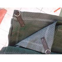 Malla Sombra 4x4mts 80% Sombra Lista Para Instalarse Colores