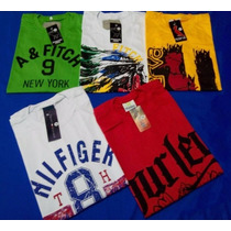 Kit 50 Camisetas Masculina Camisas Blusas Estampadas Atacado