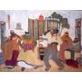 Nostalgias Africanas - Pedro Figari - Lámina 45x30 Cm.