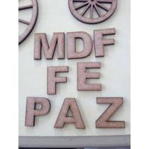 Kit Letras Mdf 10cm 26 Letras (alfabeto)